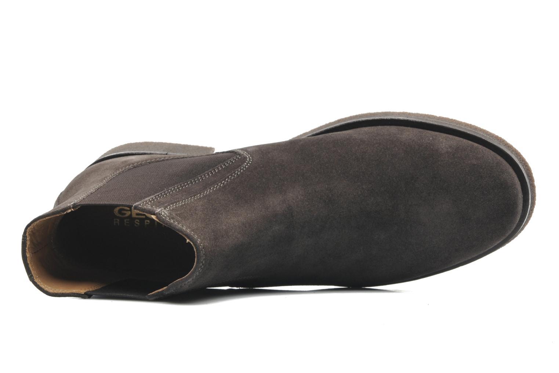 Boots en enkellaarsjes Geox U CLAUDIO G Grijs links