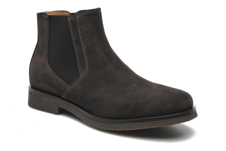 Boots en enkellaarsjes Geox U CLAUDIO G Grijs detail