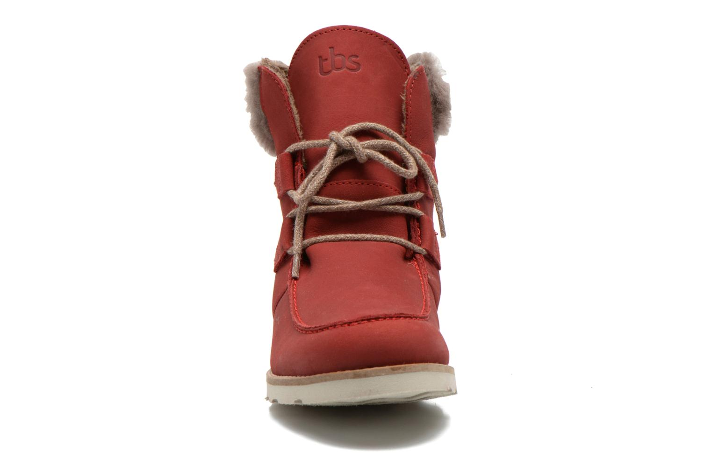 Boots en enkellaarsjes TBS Ariana Rood model