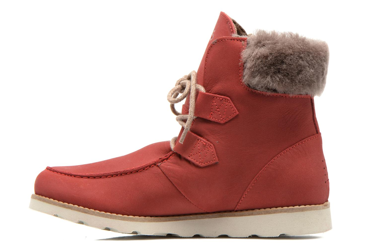 Ankle boots TBS Ariana Red front view