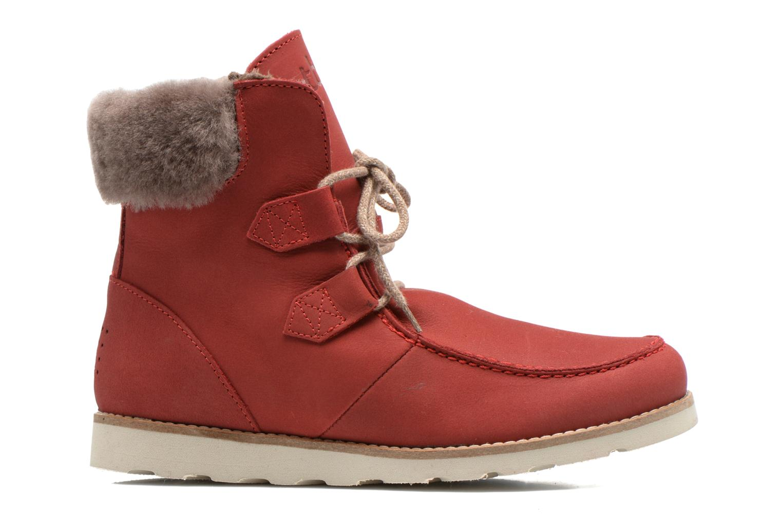 Ankle boots TBS Ariana Red back view