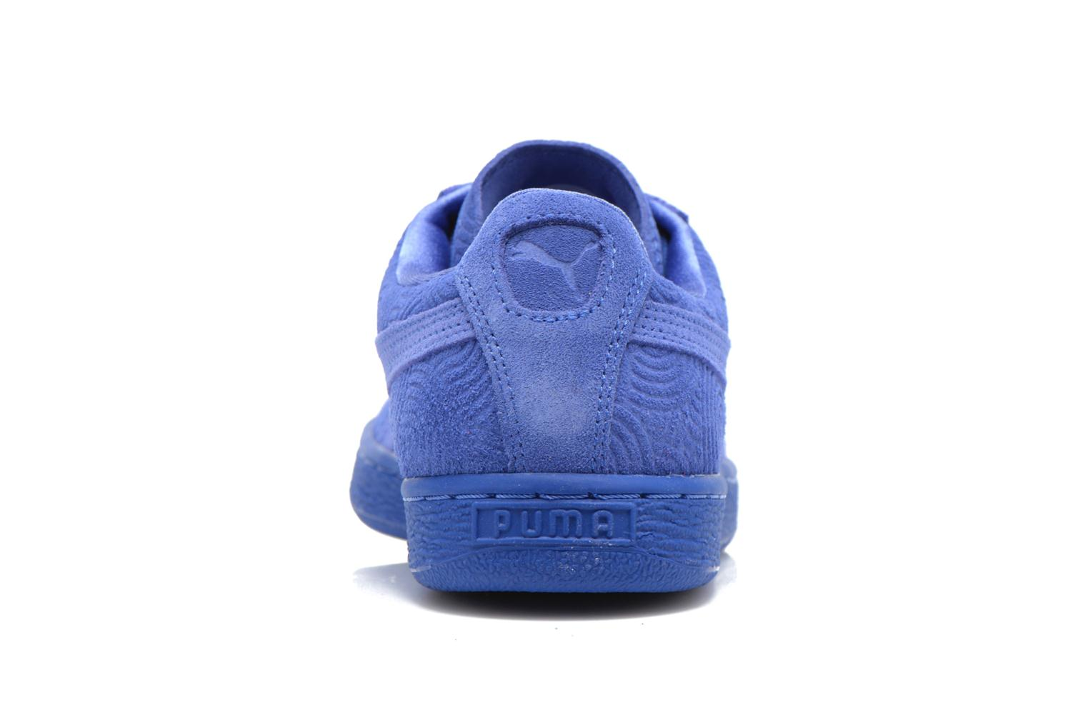 Sneakers Puma Suede Classic Wn's Blauw rechts