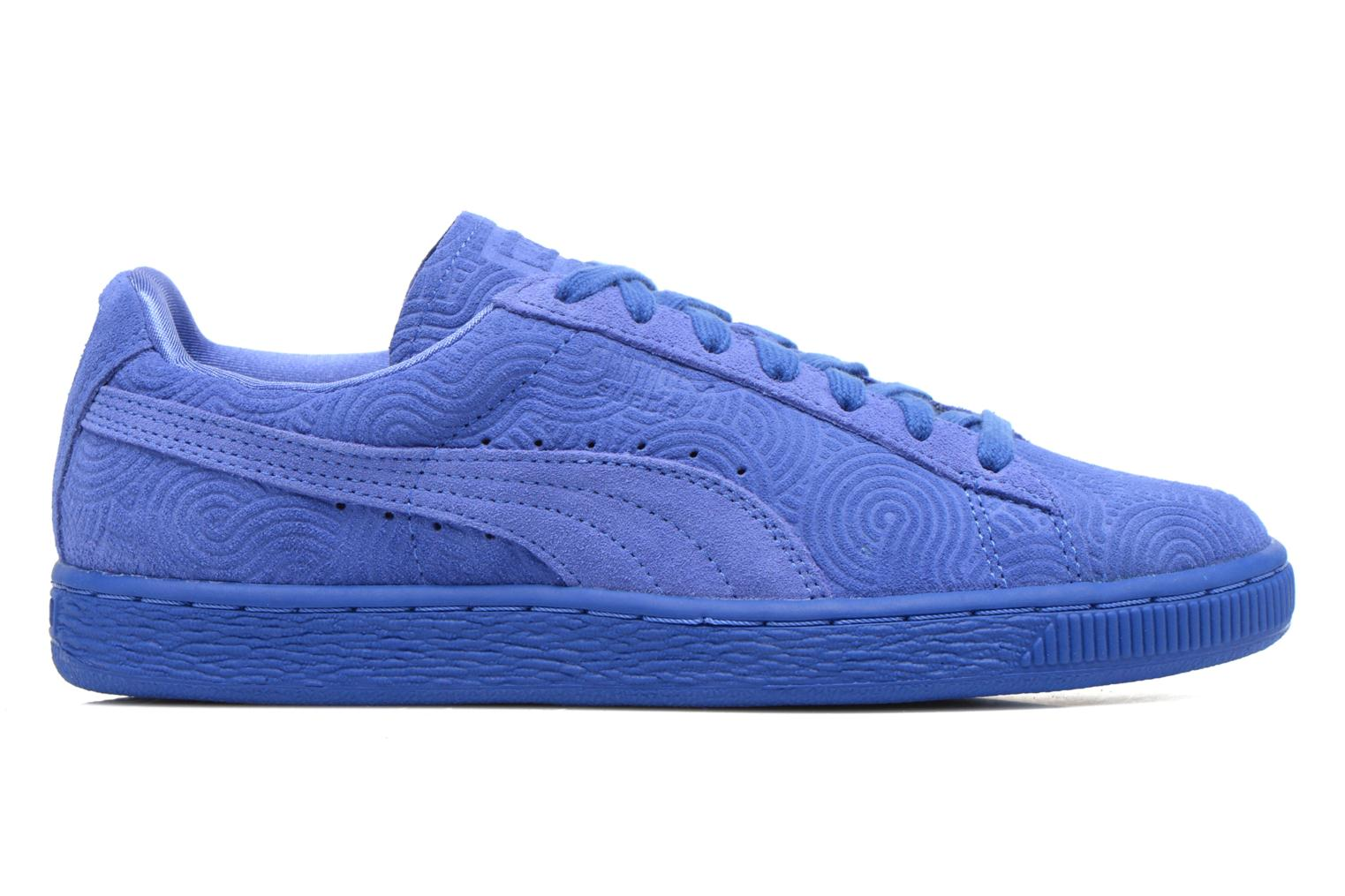Sneakers Puma Suede Classic Wn's Blauw achterkant