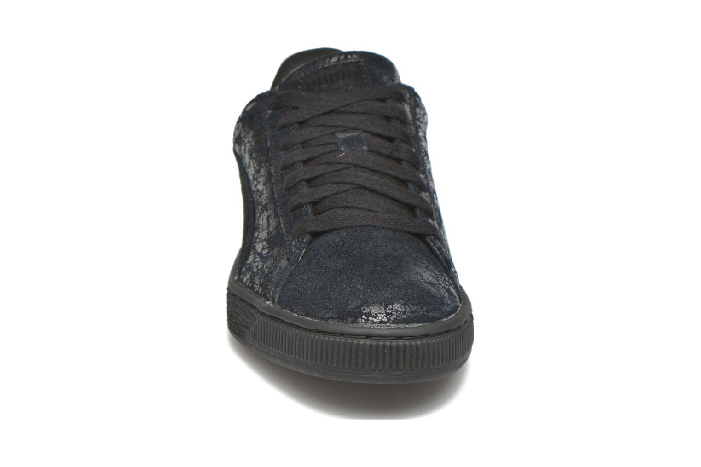 Sneaker Puma Suede Classic Wn's schwarz schuhe getragen