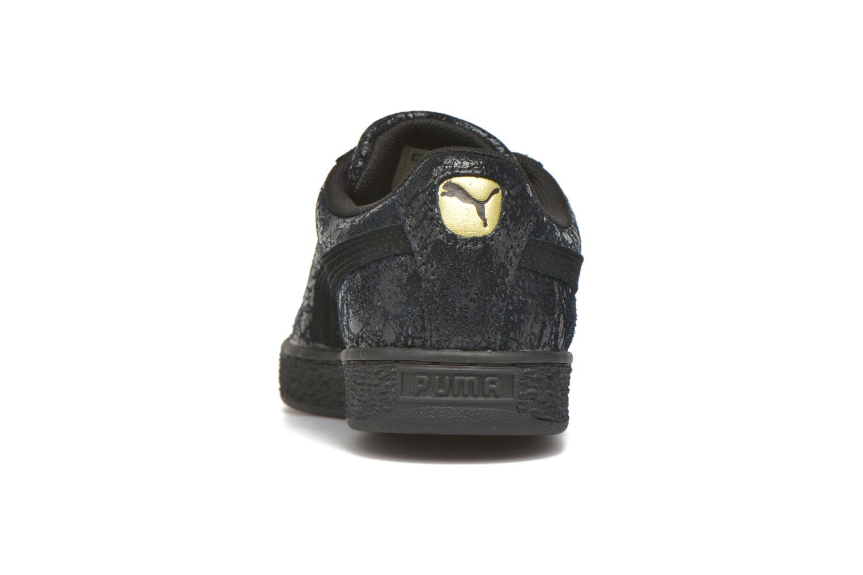 Baskets Puma Suede Classic Wn's Noir vue droite