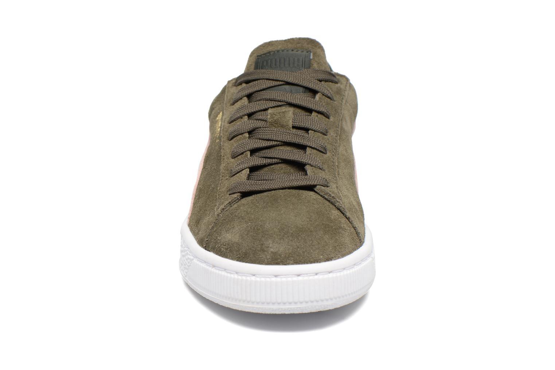 Sneaker Puma Suede Classic Wn's grün schuhe getragen