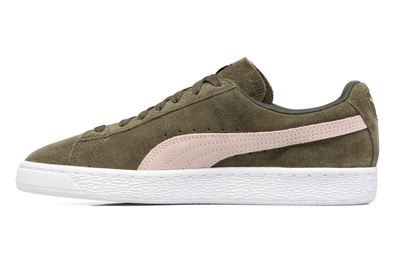 Sneaker Puma Suede Classic Wn's grün ansicht von vorne