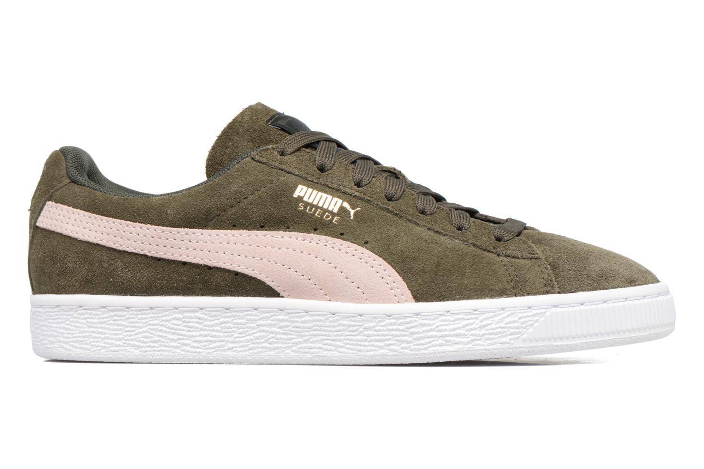 Sneaker Puma Suede Classic Wn's grün ansicht von hinten