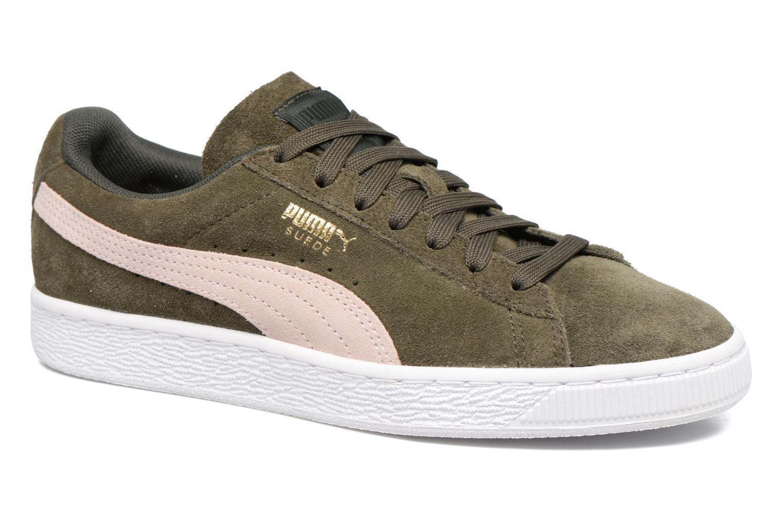 Sneakers Puma Suede Classic Wn's Grøn detaljeret billede af skoene