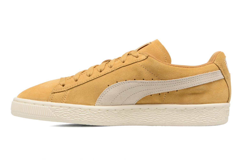Sneakers Puma Suede Classic Wn's Geel voorkant