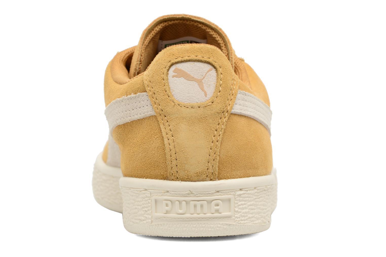 Baskets Puma Suede Classic Wn's Jaune vue droite