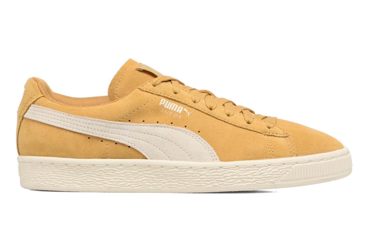 Trainers Puma Suede Classic Wn's Yellow back view