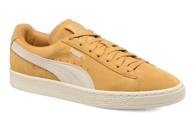 Sneakers Puma Suede Classic Wn's Gul detaljeret billede af skoene
