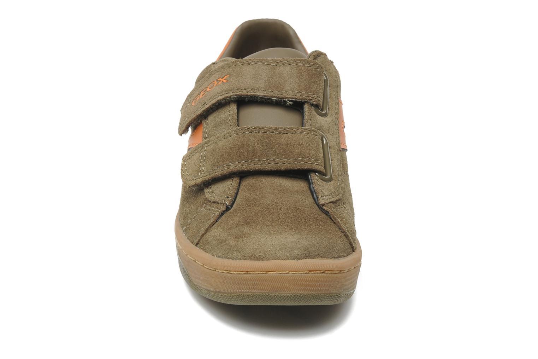 Baskets Geox J Maltin B. Q Marron vue portées chaussures