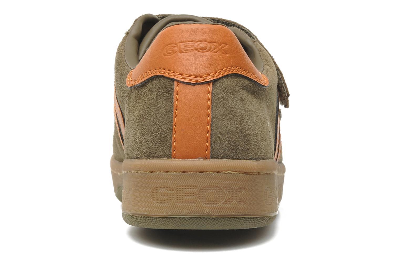 Baskets Geox J Maltin B. Q Marron vue droite