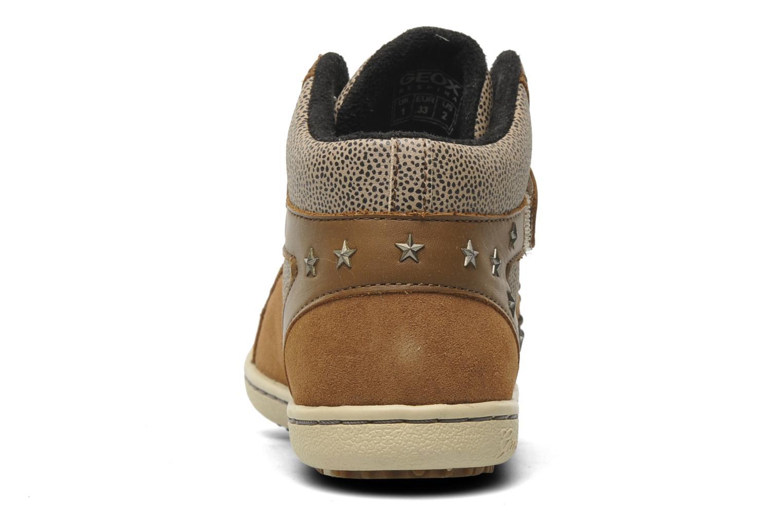 Sneakers Geox J PRISCA A Bruin rechts