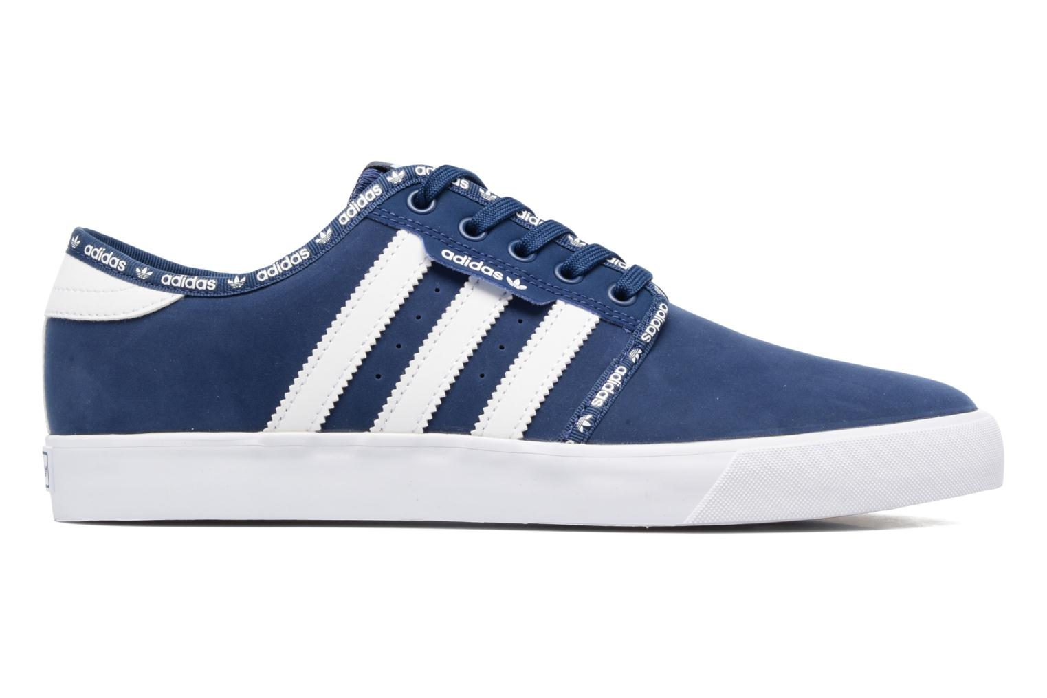 Trainers Adidas Originals Seeley Blue back view