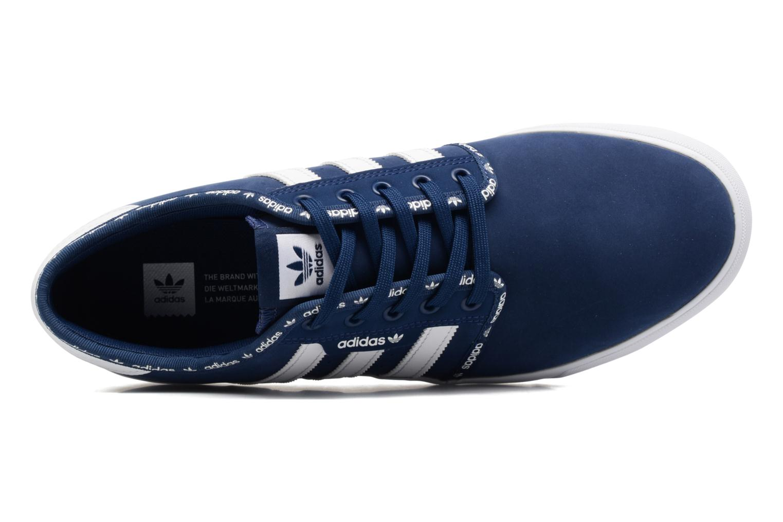 Trainers Adidas Originals Seeley Blue view from the left