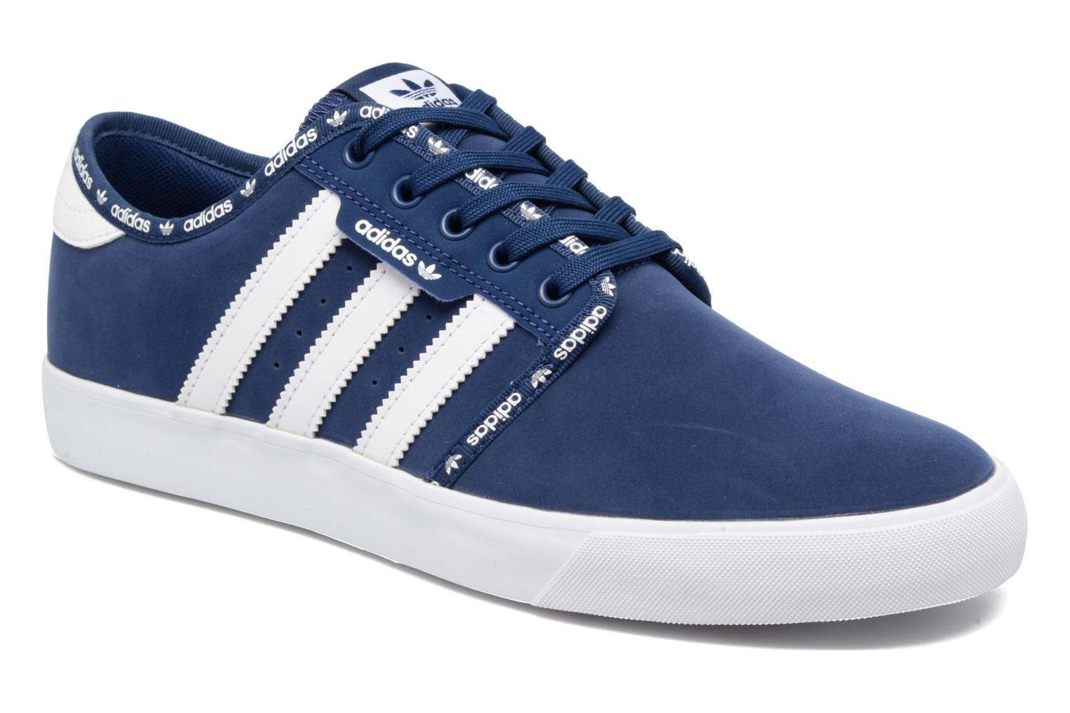Trainers Adidas Originals Seeley Blue detailed view/ Pair view