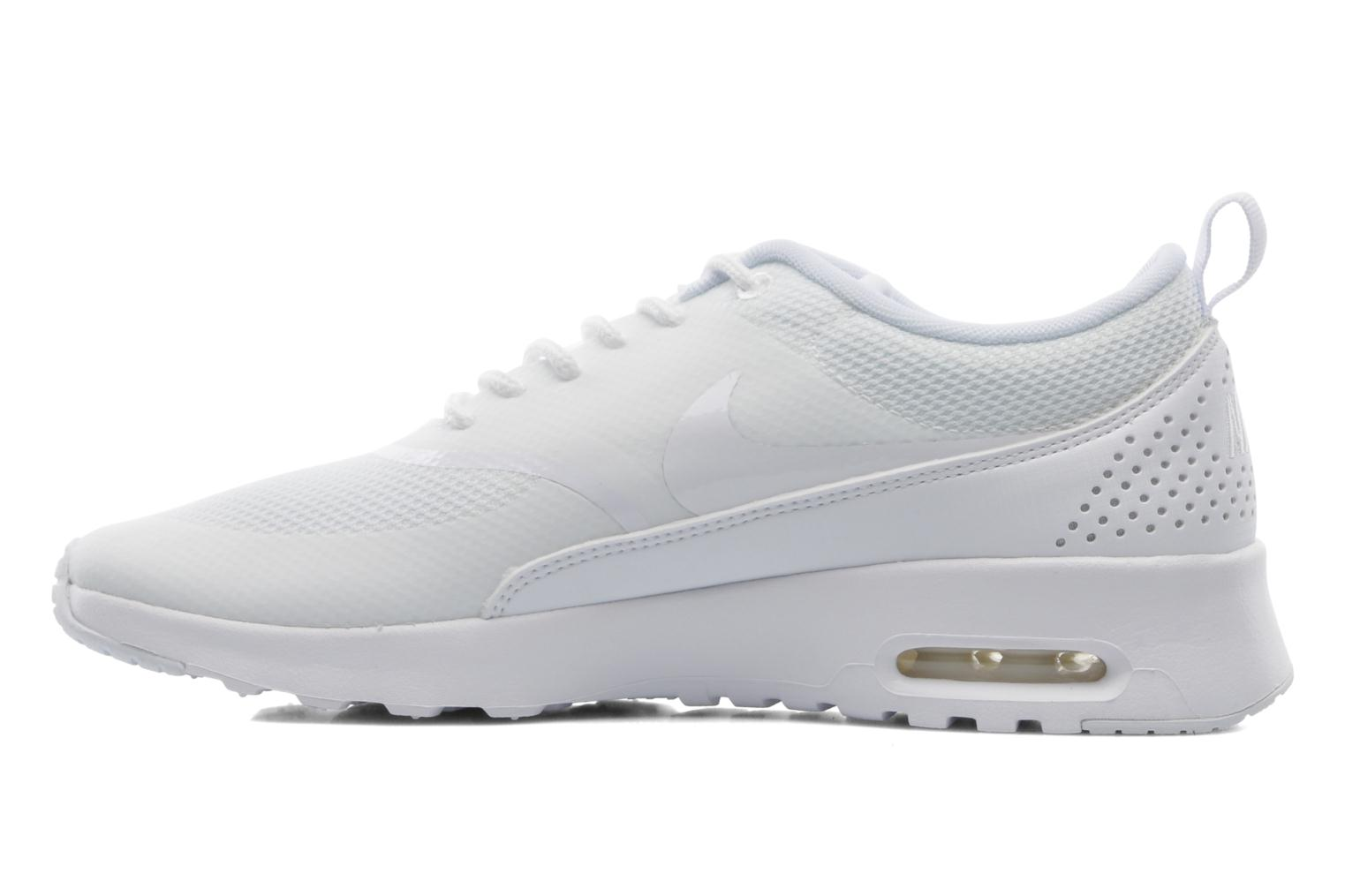 Sneakers Nike Wmns Nike Air Max Thea Hvid se forfra