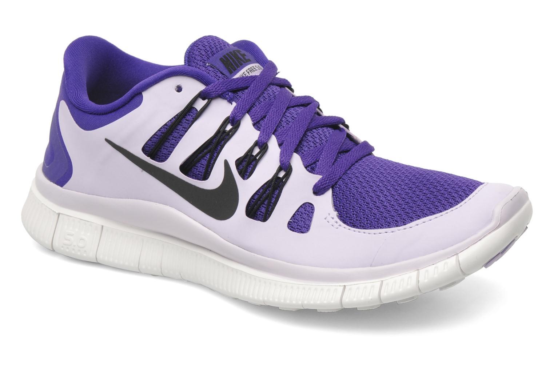 premium selection aa335 4eaeb ... damen Wmns Nike Free 5.0+ Elctr Purple Black-Velvet Frst-Smmt W