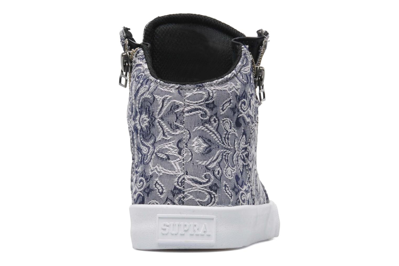 Sneaker Supra Cuttler W grau ansicht von rechts