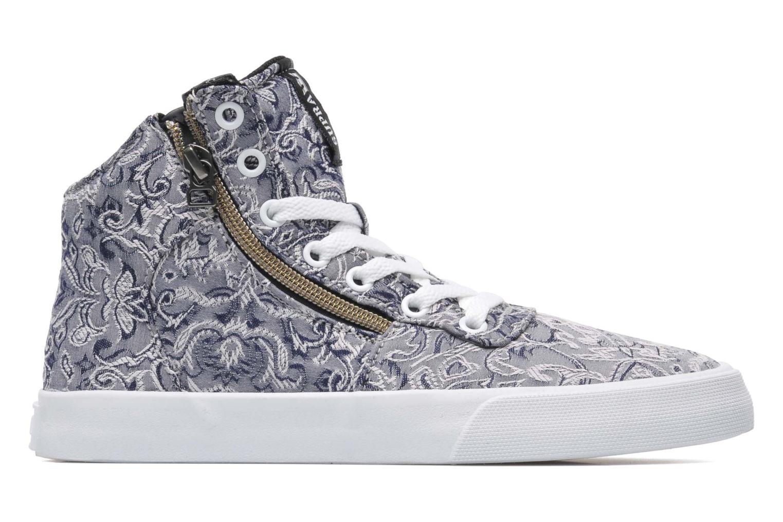 Sneaker Supra Cuttler W grau ansicht von hinten