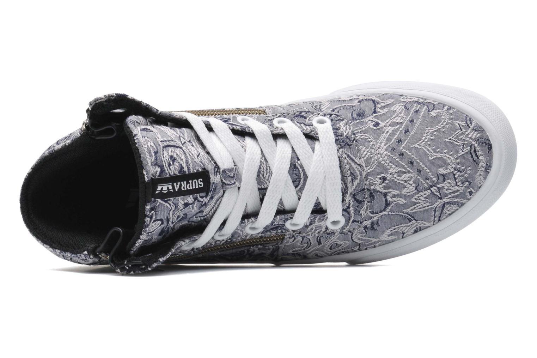 Sneaker Supra Cuttler W grau ansicht von links