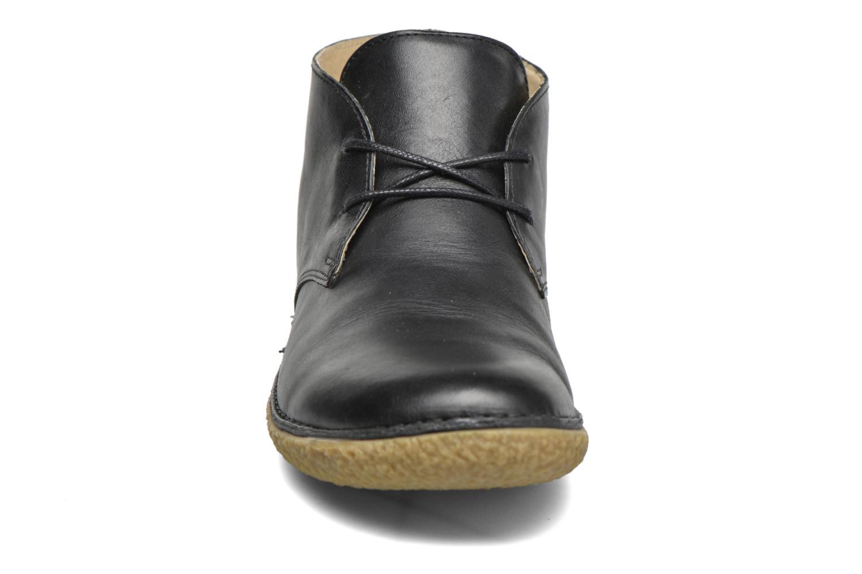 Chaussures à lacets Kickers HOBBOBO Noir vue portées chaussures