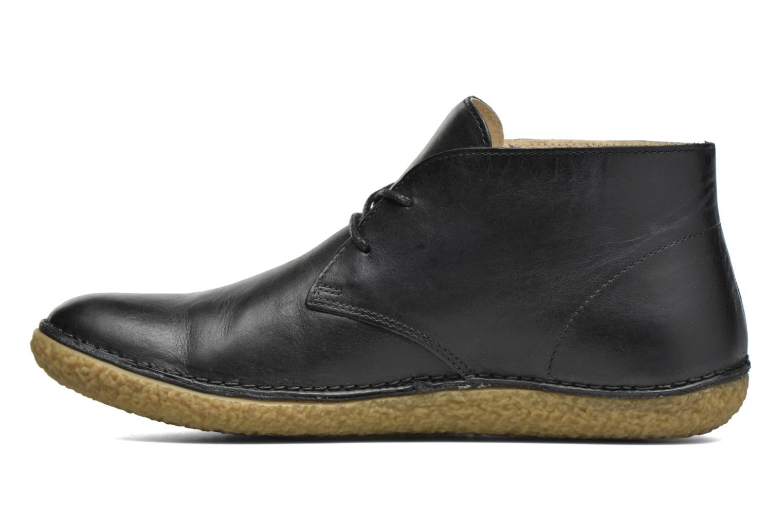 Chaussures à lacets Kickers HOBBOBO Noir vue face