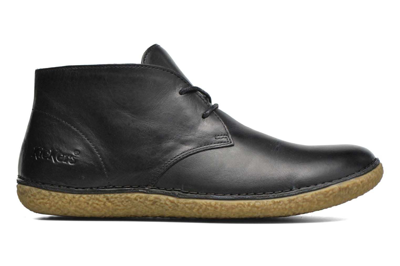 Chaussures à lacets Kickers HOBBOBO Noir vue derrière