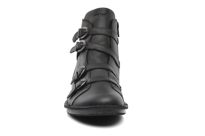 Bottines et boots Kickers WAXING Noir vue portées chaussures