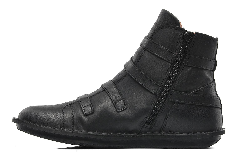 Bottines et boots Kickers WAXING Noir vue face