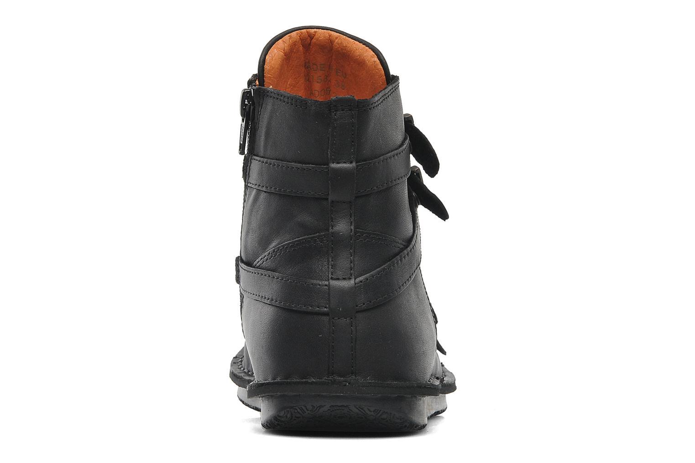 Boots en enkellaarsjes Kickers WAXING Zwart rechts