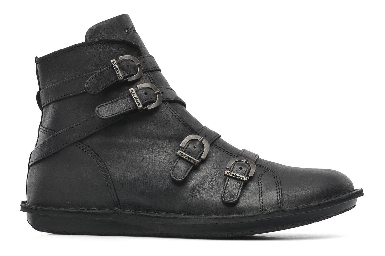 Boots en enkellaarsjes Kickers WAXING Zwart achterkant