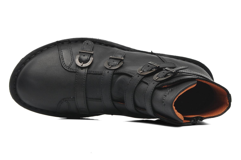 Boots en enkellaarsjes Kickers WAXING Zwart links