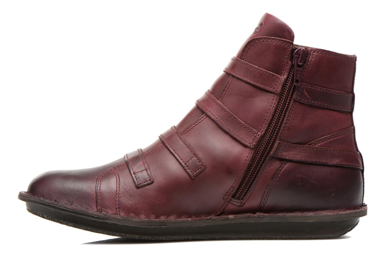 Boots en enkellaarsjes Kickers WAXING Bordeaux voorkant