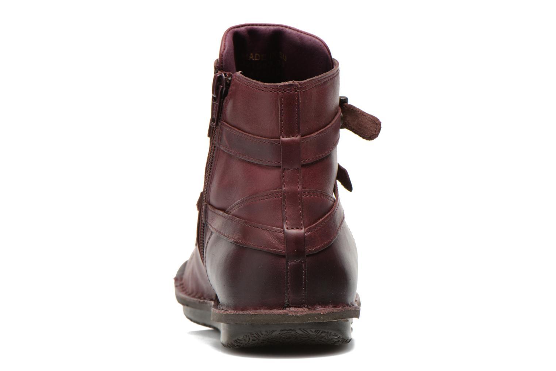 Boots en enkellaarsjes Kickers WAXING Bordeaux rechts