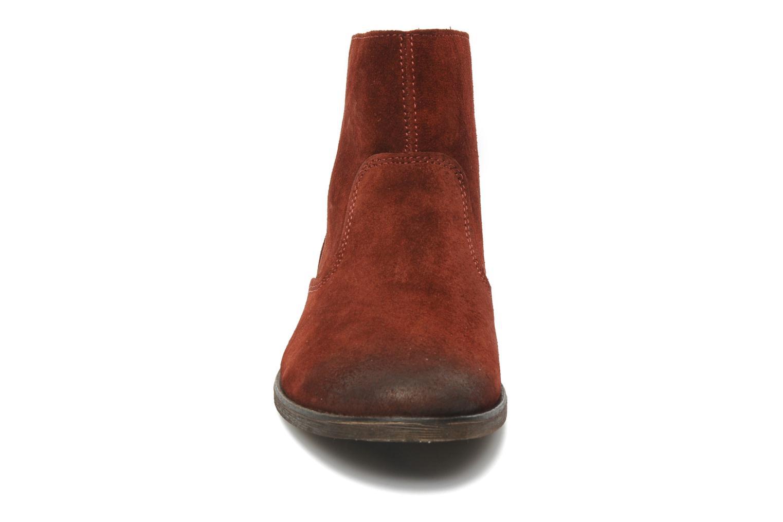 Boots en enkellaarsjes Kickers ROXANNAE Bordeaux model