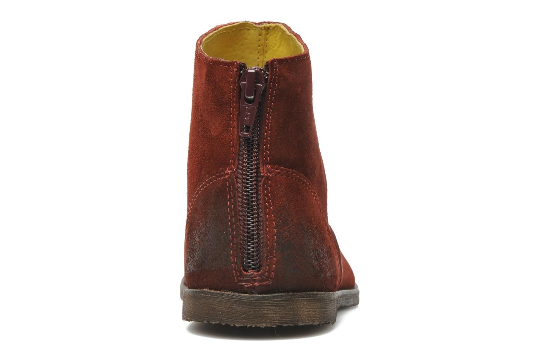 Boots en enkellaarsjes Kickers ROXANNAE Bordeaux rechts