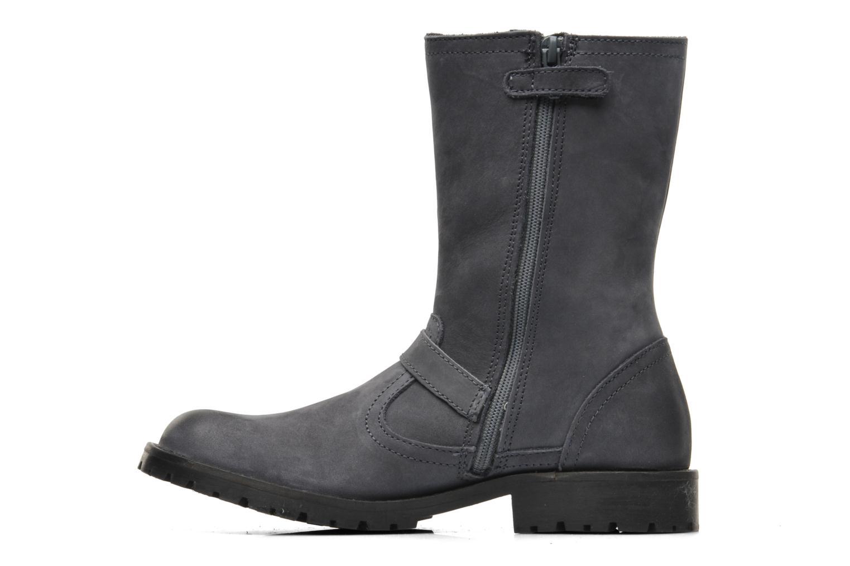Boots en enkellaarsjes Kickers GECKO Grijs voorkant