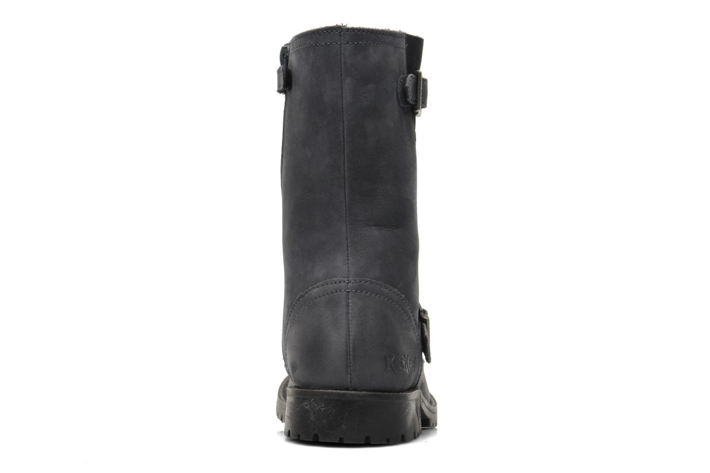 Boots en enkellaarsjes Kickers GECKO Grijs rechts