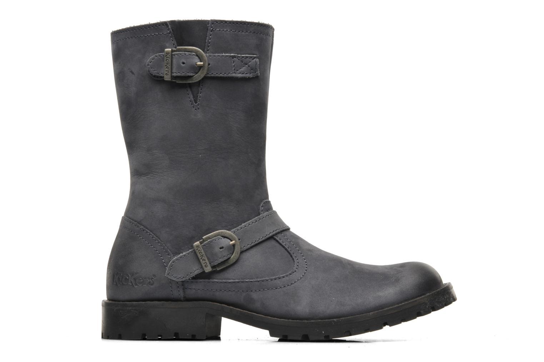 Boots en enkellaarsjes Kickers GECKO Grijs achterkant