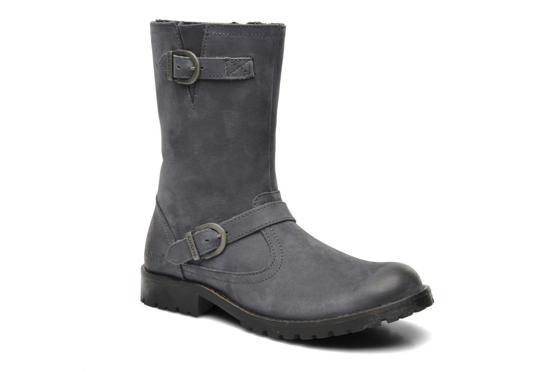 Boots en enkellaarsjes Kickers GECKO Grijs detail