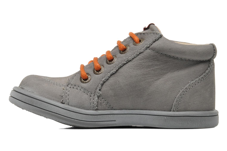 Bottines et boots Kickers Tatoo Gris vue face