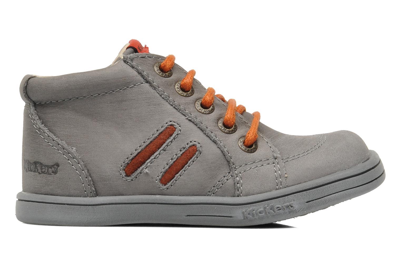Bottines et boots Kickers Tatoo Gris vue derrière