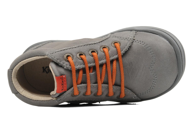 Bottines et boots Kickers Tatoo Gris vue gauche