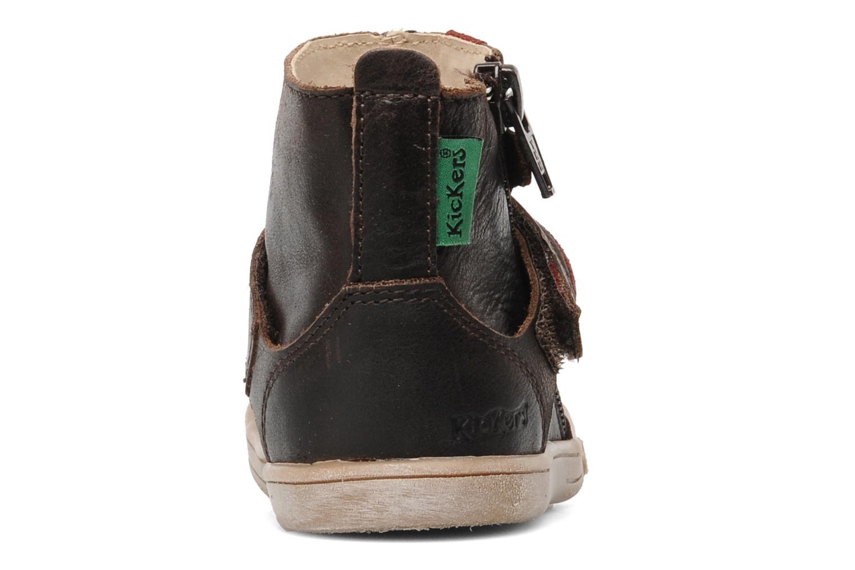 Stiefeletten & Boots Kickers TAB braun ansicht von rechts