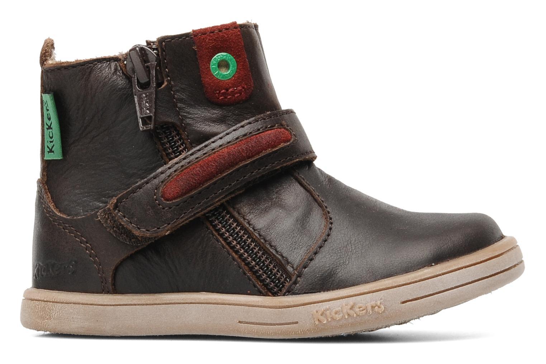 Stiefeletten & Boots Kickers TAB braun ansicht von hinten