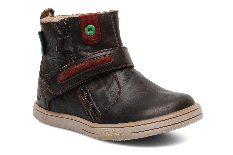 Stiefeletten & Boots Kickers TAB braun detaillierte ansicht/modell